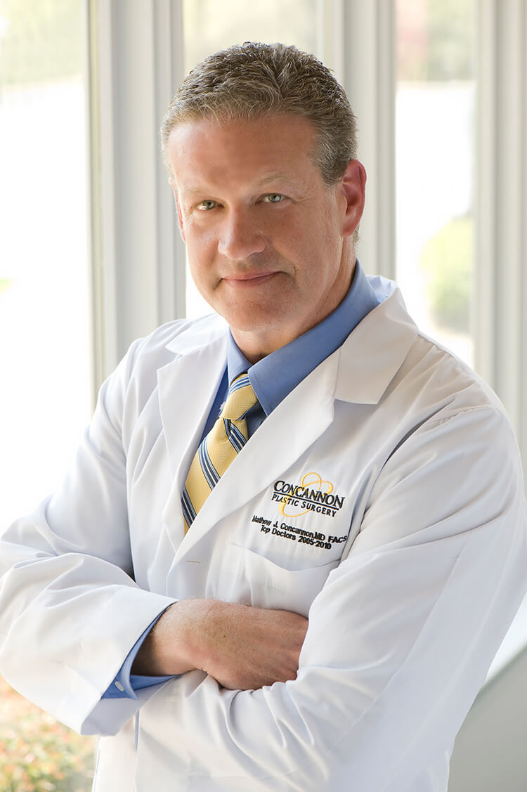 Dr. Matthew Concannon, Board certified plastic surgeon