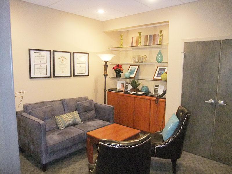Consultation room at Concannon Plastic Surgery
