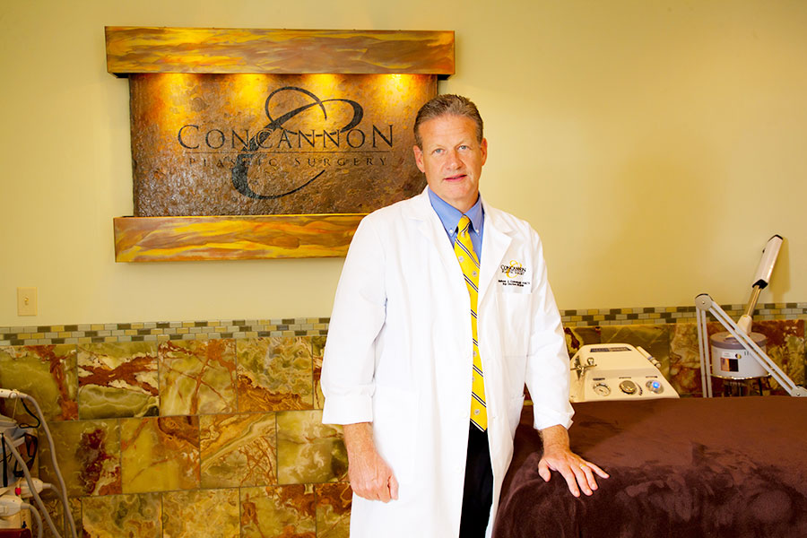 Portrait of Dr. Concannon at his practice